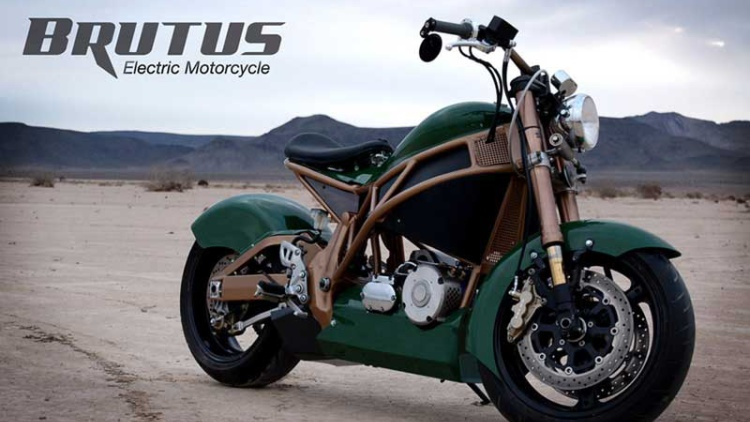 Expedition Electric Brutus Motorcycles