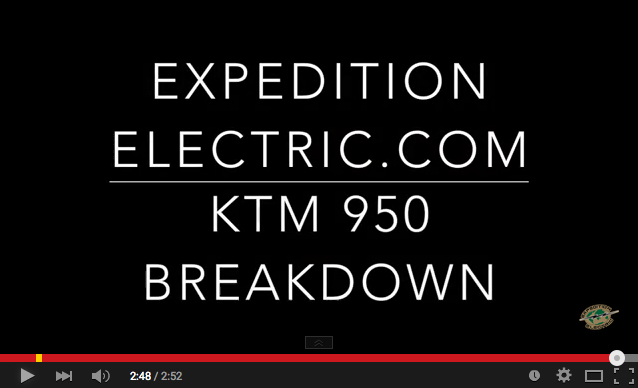 Expedition Electric KTM 950 Breakdown part 3
